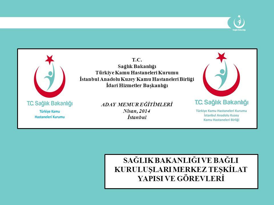 T.C. Sağlık Bakanlığı. Türkiye Kamu Hastaneleri Kurumu. İstanbul Anadolu Kuzey Kamu Hastaneleri Birliği.