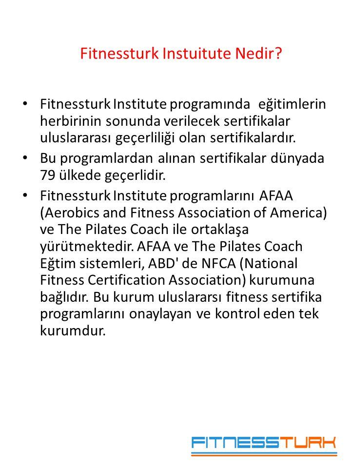 Fitnessturk Instuitute Nedir