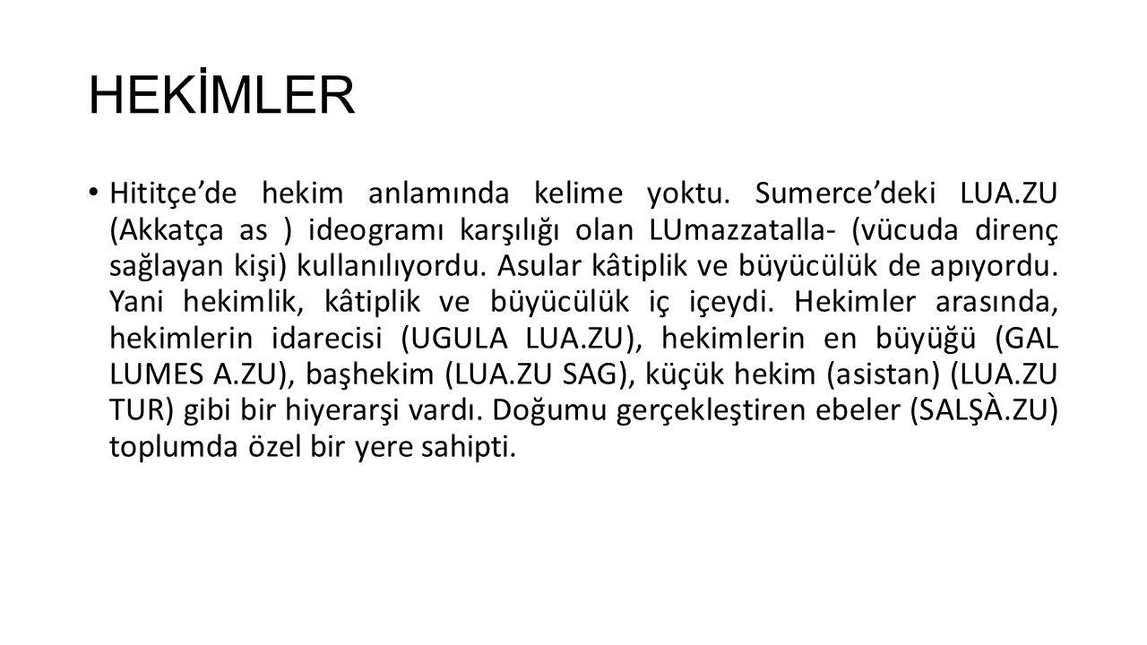 HEKİMLER