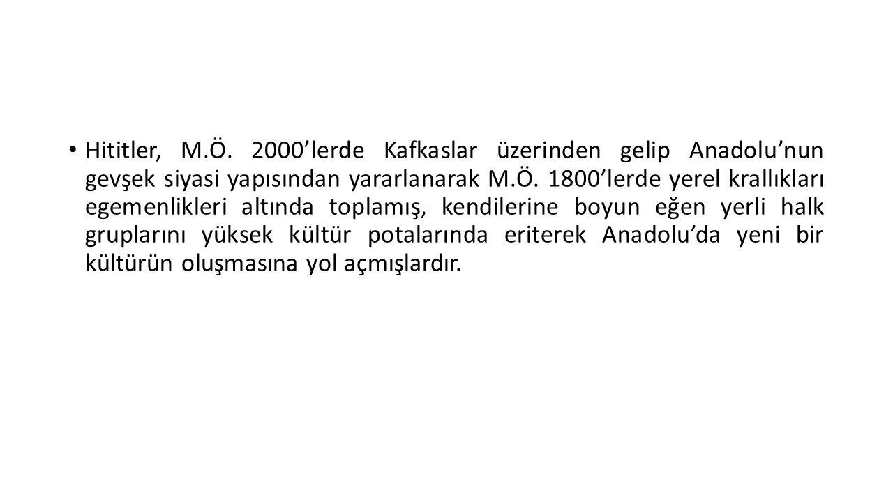 Hititler, M.Ö.