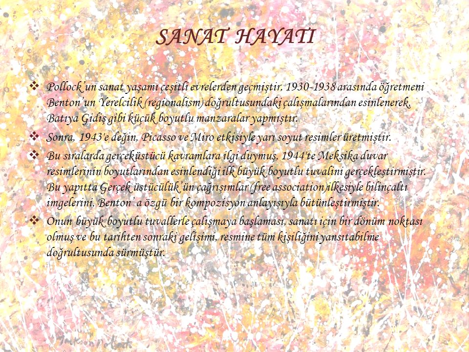 SANAT HAYATI