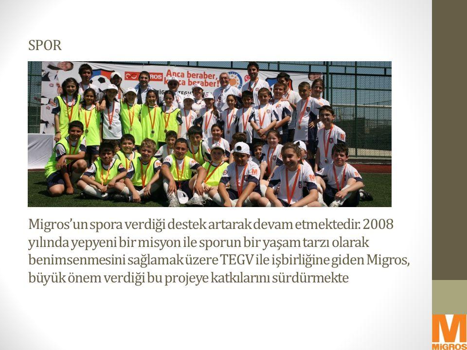 SPOR Migros'un spora verdiği destek artarak devam etmektedir