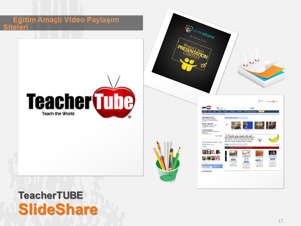 Eğitim Amaçlı Video Paylaşım Siteleri