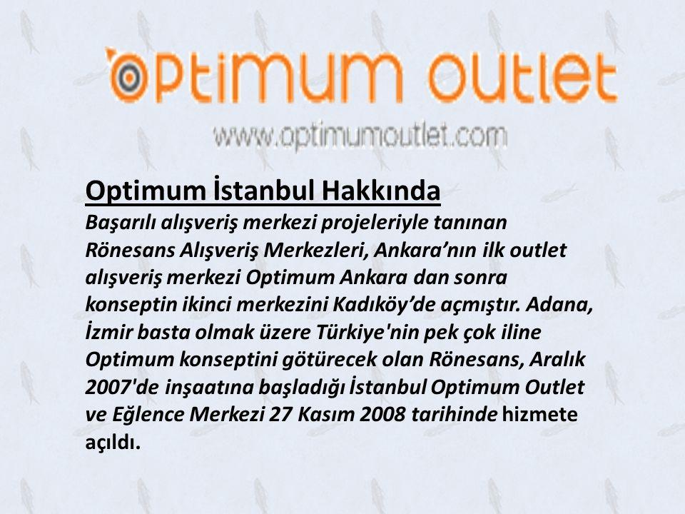 Optimum İstanbul Hakkında