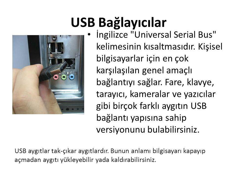 USB Bağlayıcılar
