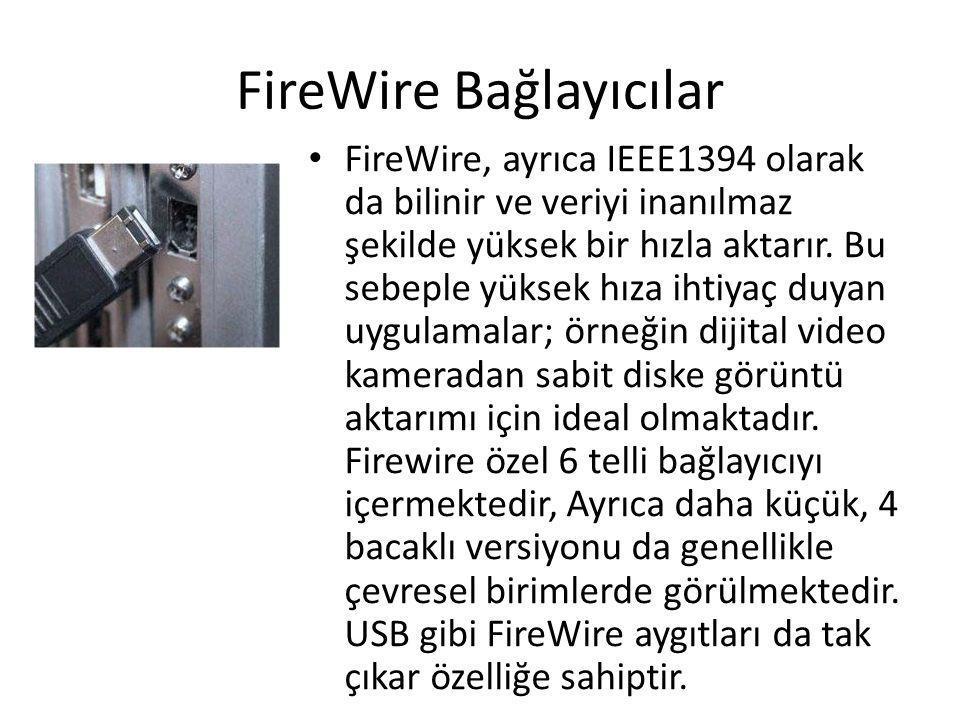 FireWire Bağlayıcılar