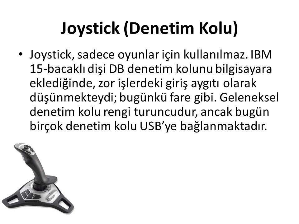 Joystick (Denetim Kolu)