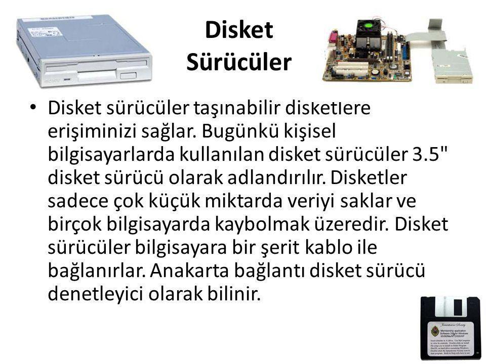 Disket Sürücüler
