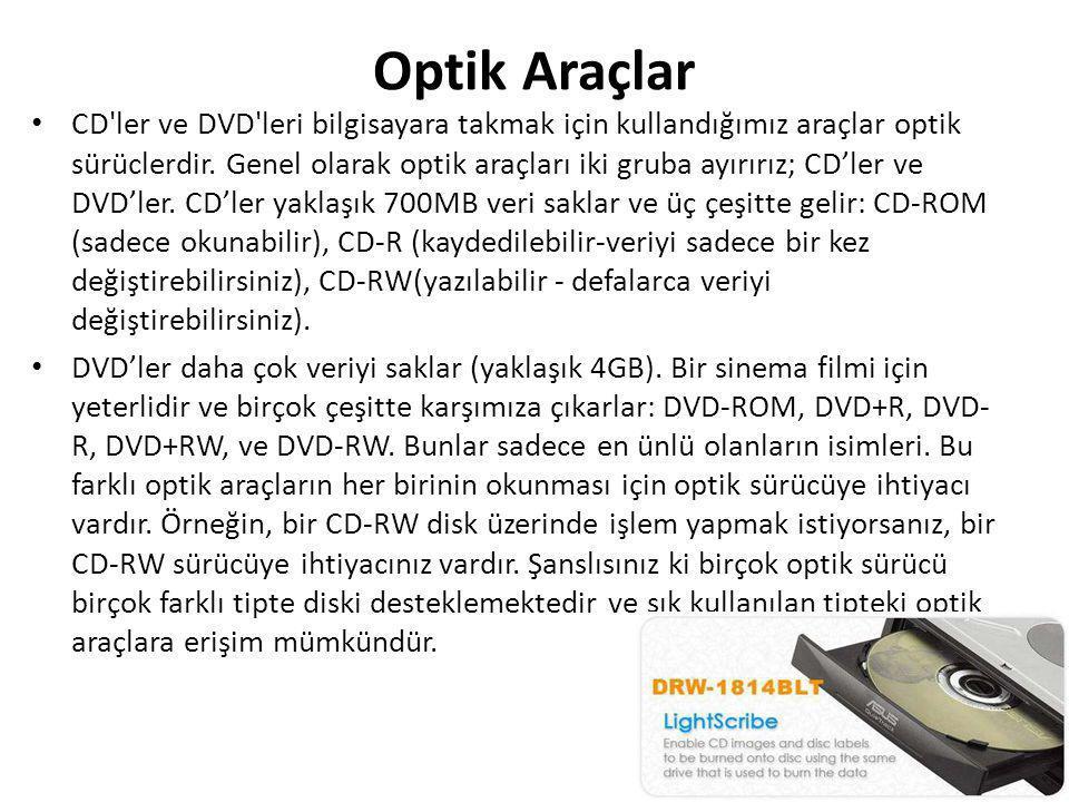 Optik Araçlar