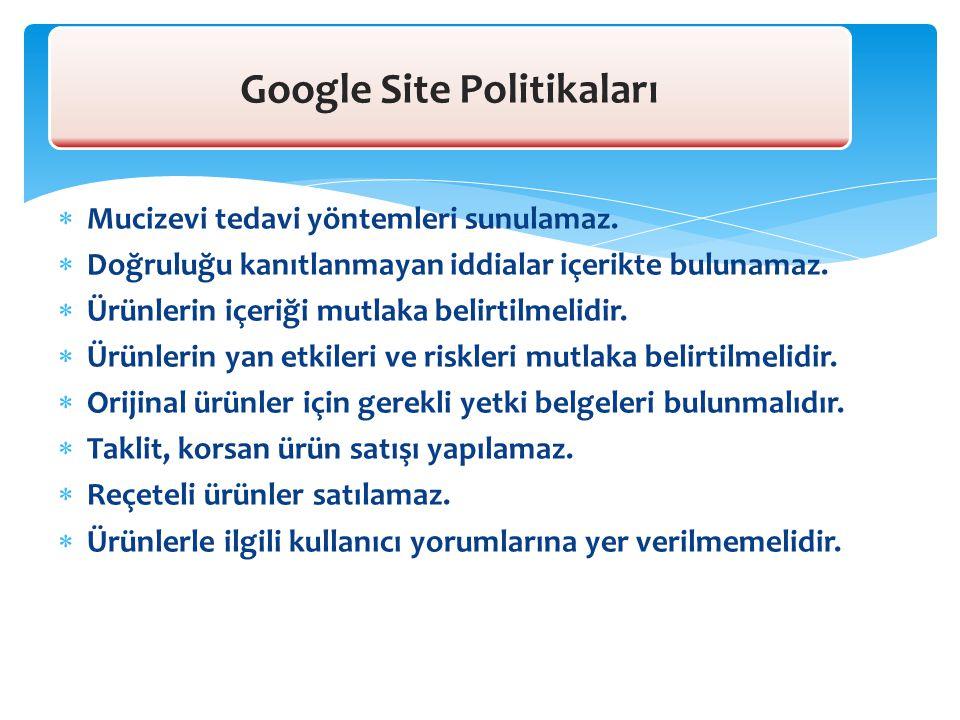 Google Site Politikaları