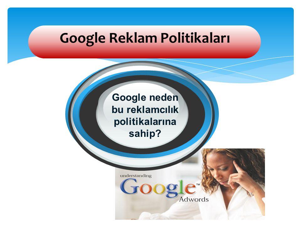 Google Reklam Politikaları