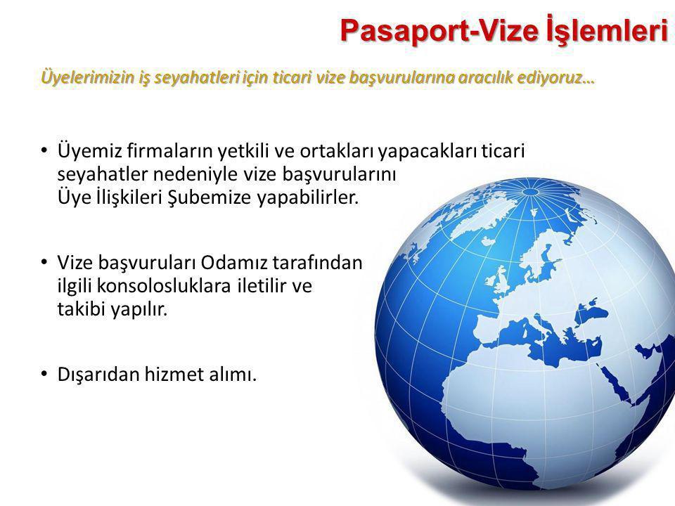 Pasaport-Vize İşlemleri