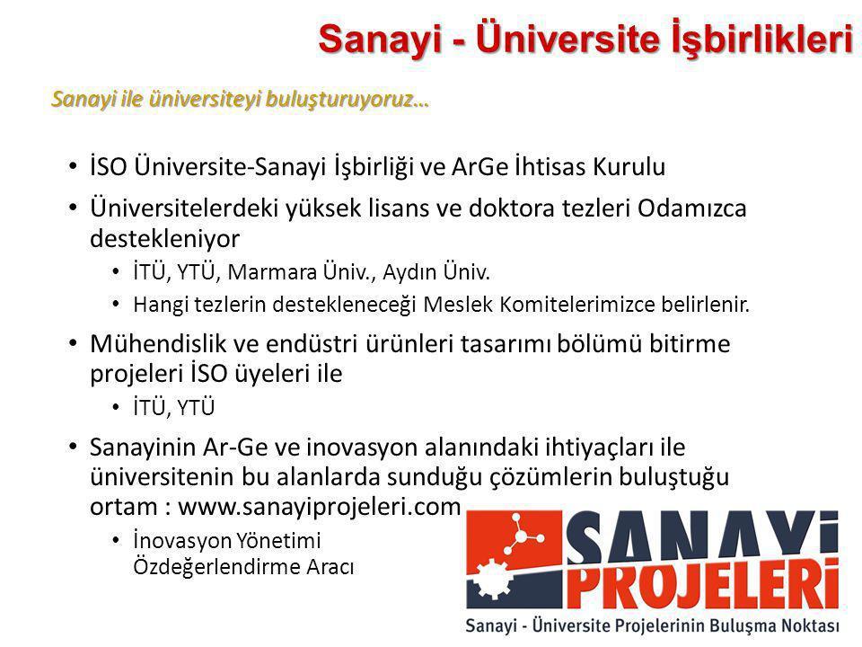 Sanayi - Üniversite İşbirlikleri