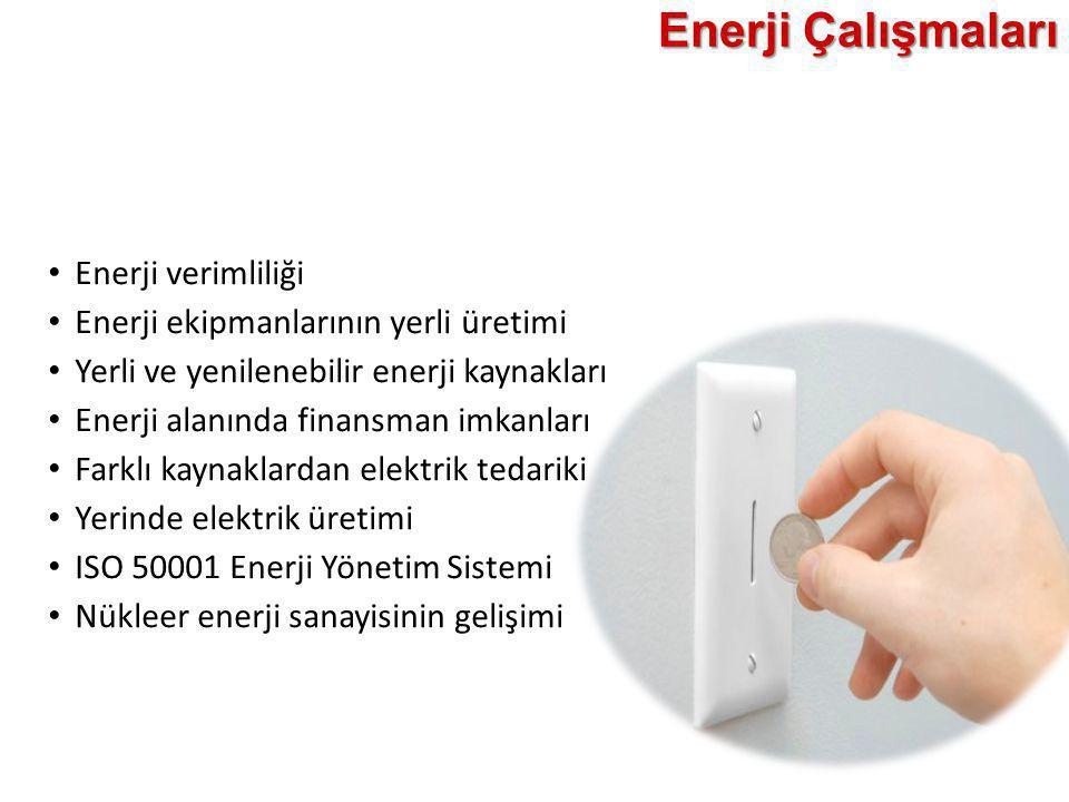 Enerji Çalışmaları Enerji verimliliği