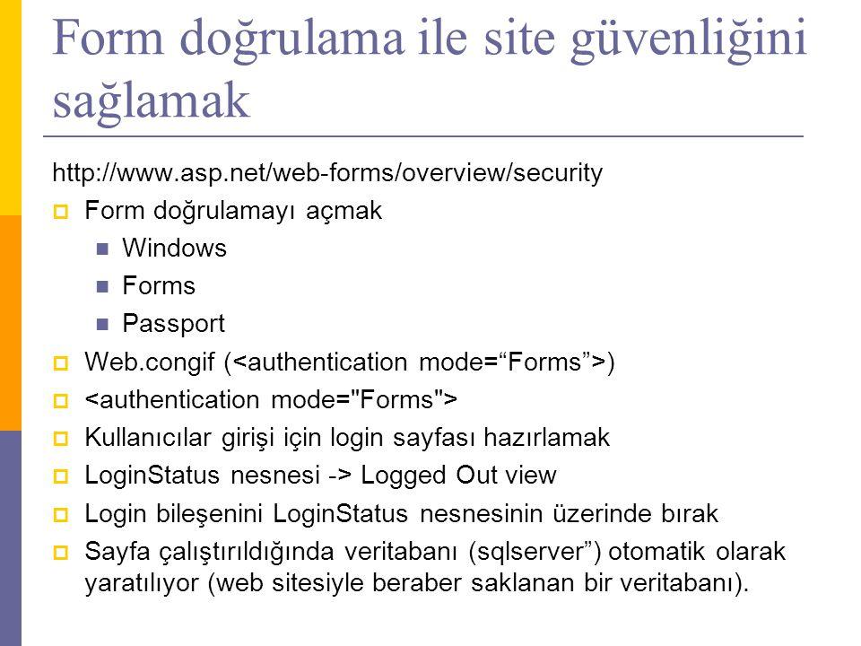 Form doğrulama ile site güvenliğini sağlamak