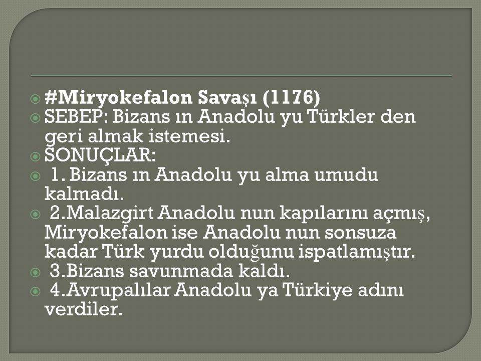 #Miryokefalon Savaşı (1176)