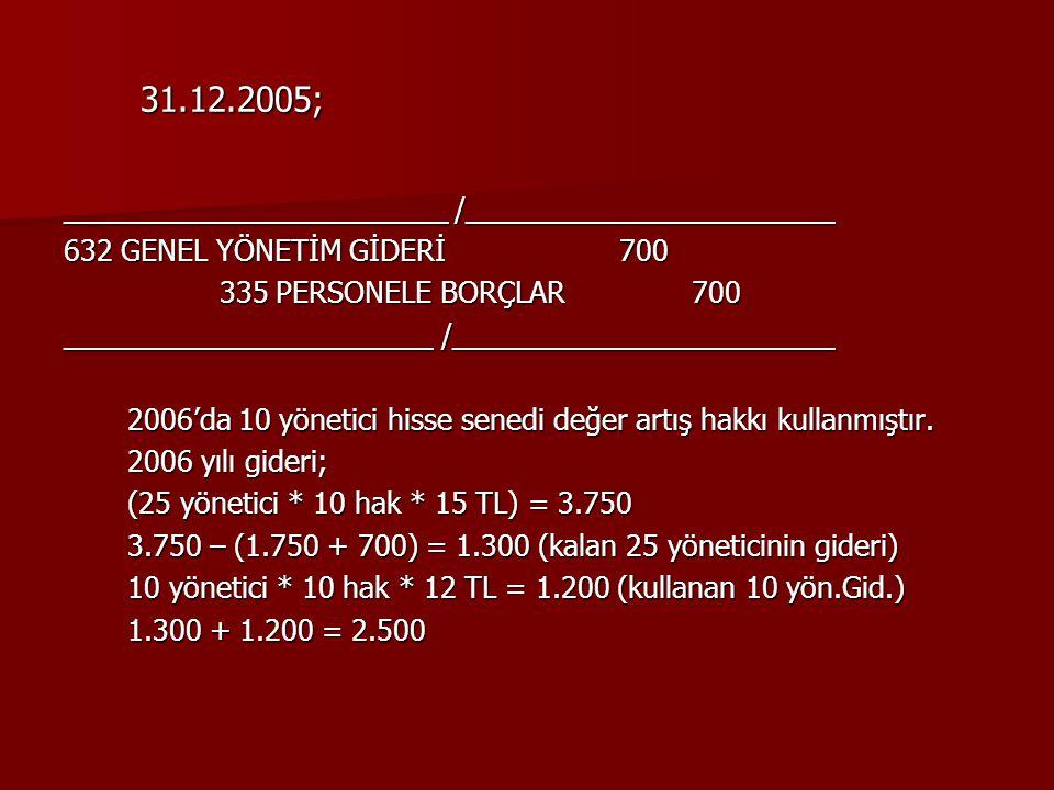 31.12.2005; ________________________ /_______________________