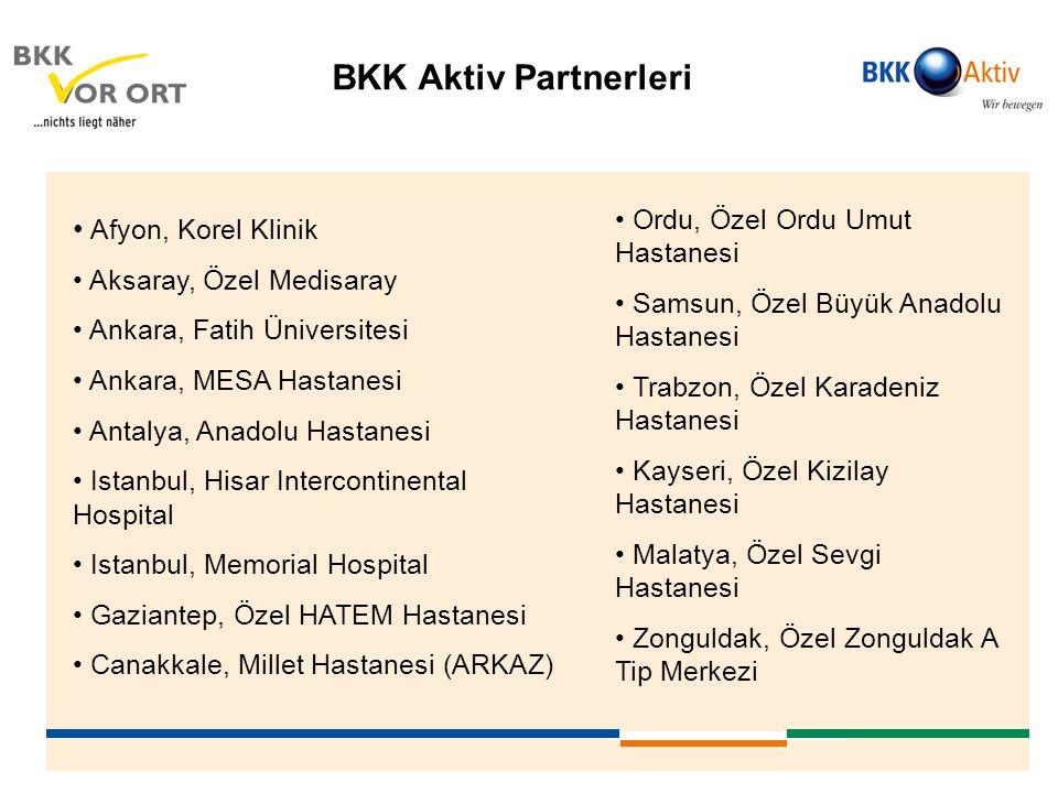 BKK Aktiv Partnerleri Afyon, Korel Klinik