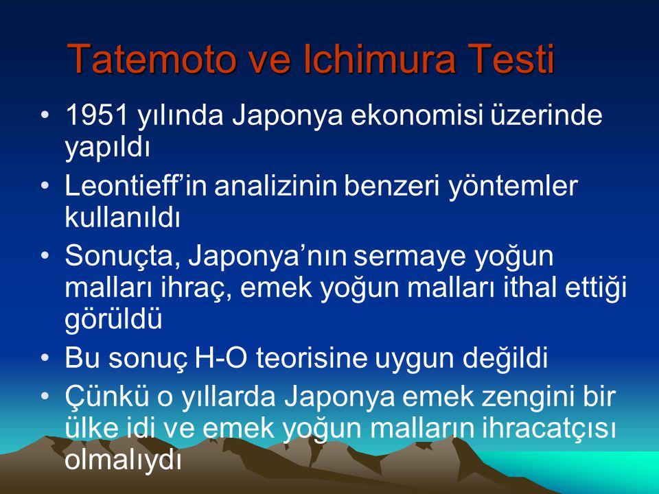 Tatemoto ve Ichimura Testi
