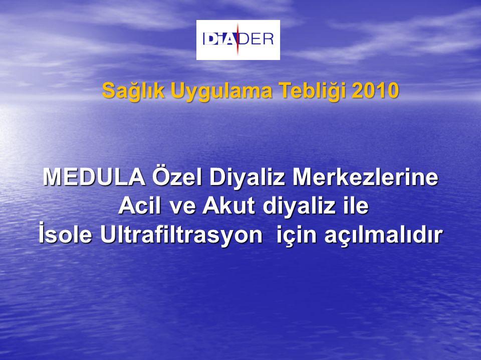 Sağlık Uygulama Tebliği 2010