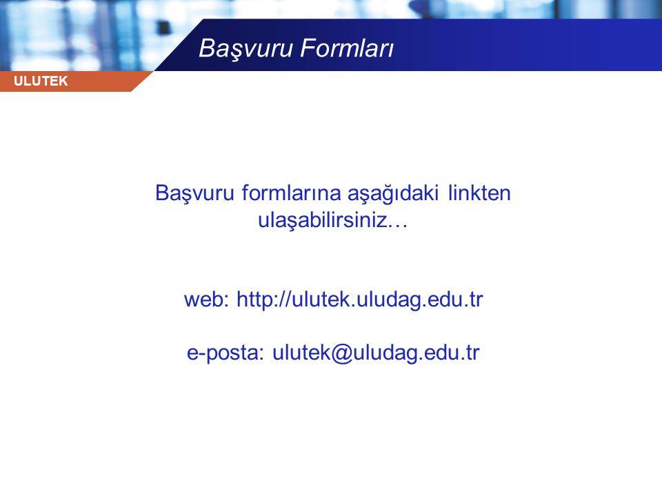 Başvuru Formları Başvuru formlarına aşağıdaki linkten ulaşabilirsiniz…