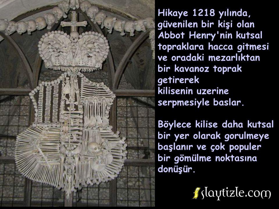 Hikaye 1218 yılında, güvenilen bir kişi olan Abbot Henry nin kutsal