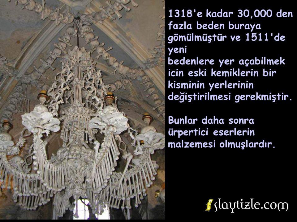 1318 e kadar 30,000 den fazla beden buraya gömülmüştür ve 1511 de yeni
