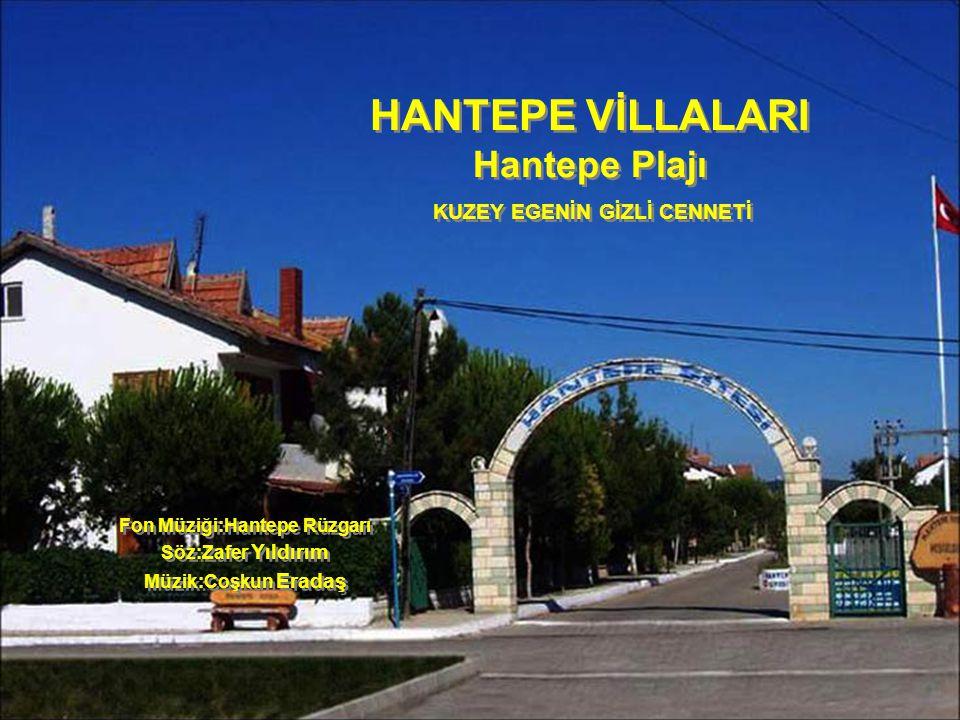 HANTEPE VİLLALARI Hantepe Plajı