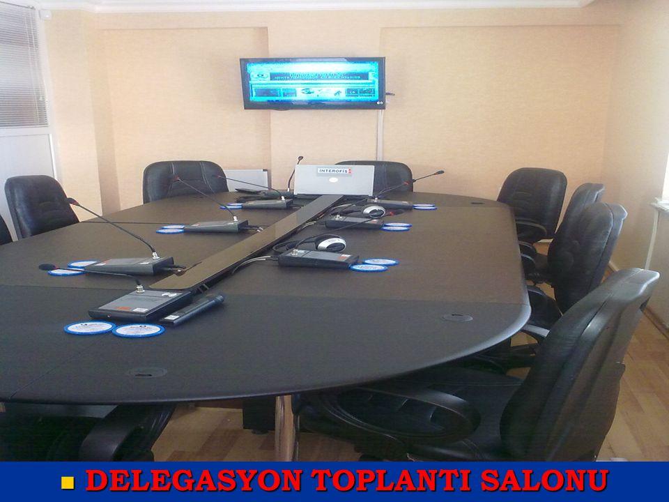DELEGASYON TOPLANTI SALONU
