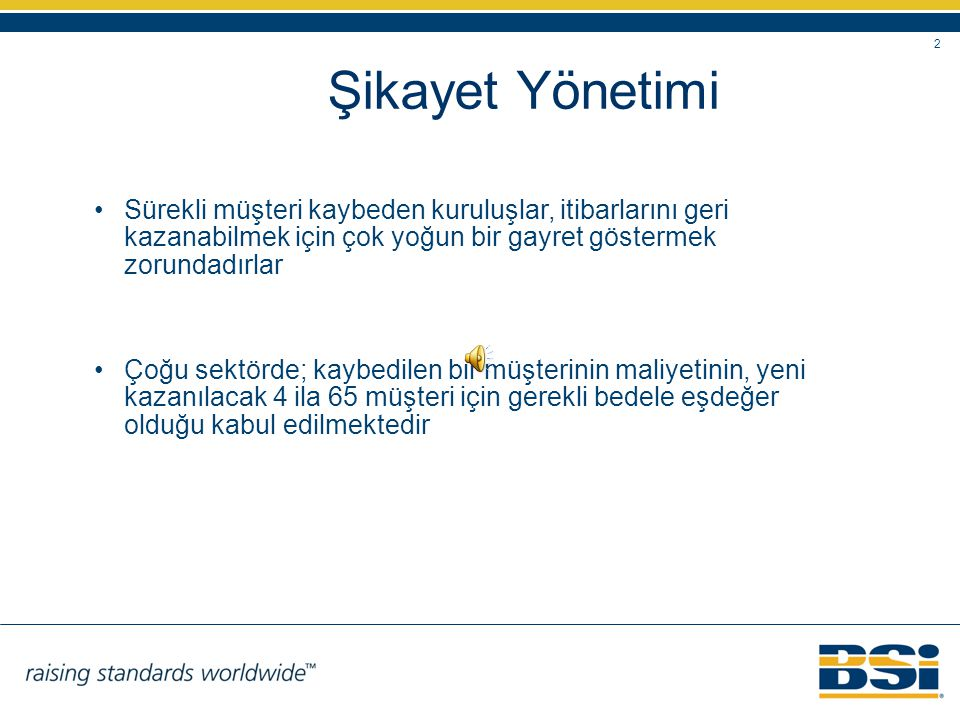 BSI Eurasia Yönetim Sistemleri Belgelendirme Ltd. Şti.