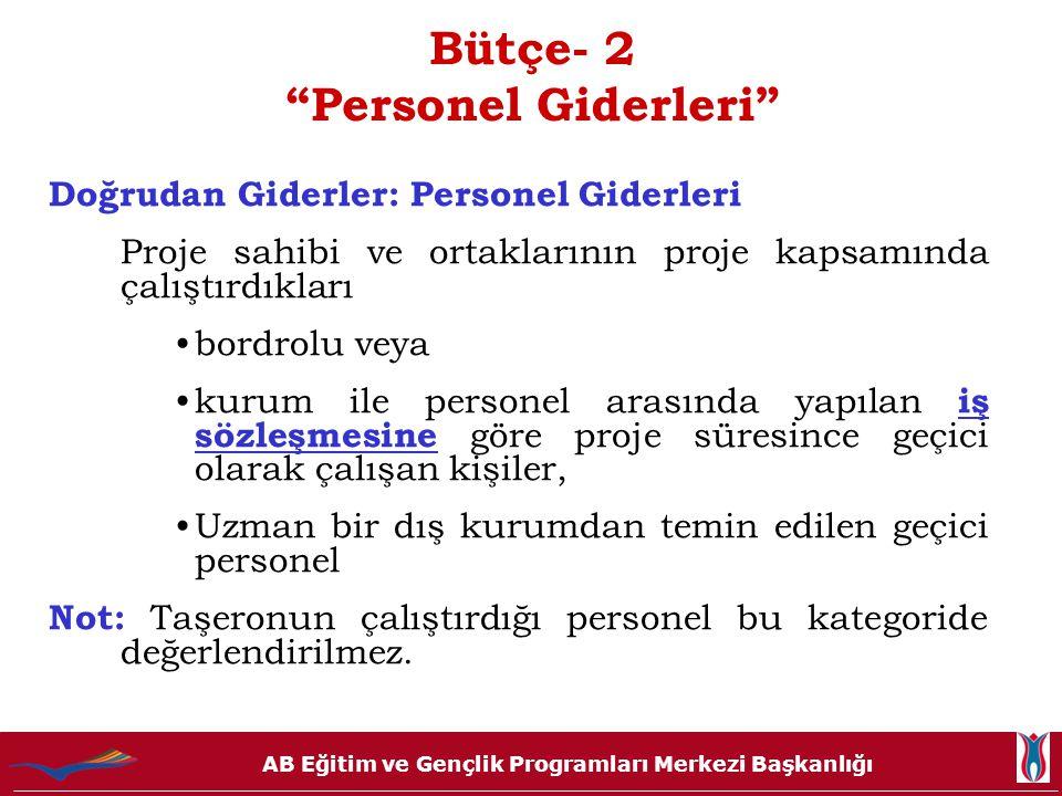 Bütçe- 2 Personel Giderleri