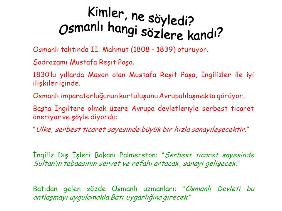 Osmanlı hangi sözlere kandı