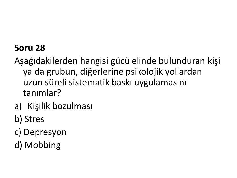 Soru 28