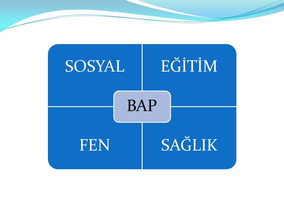 BAP SOSYAL EĞİTİM FEN SAĞLIK