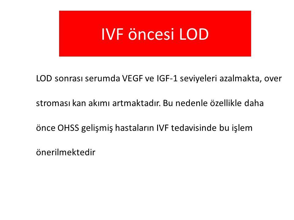 IVF öncesi LOD