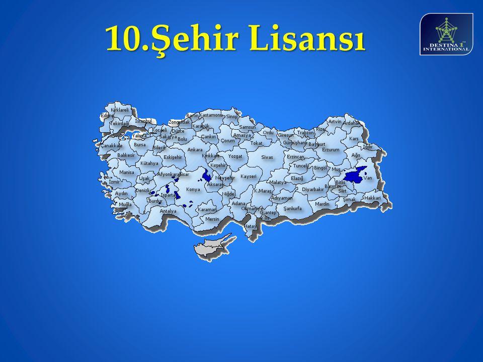 10.Şehir Lisansı