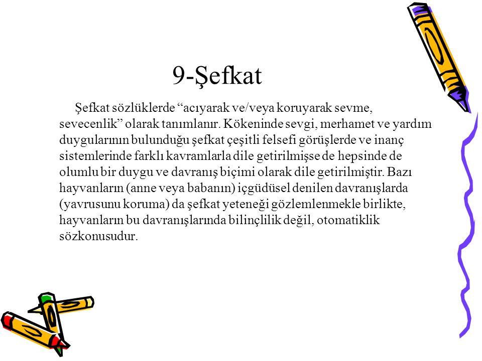 9-Şefkat