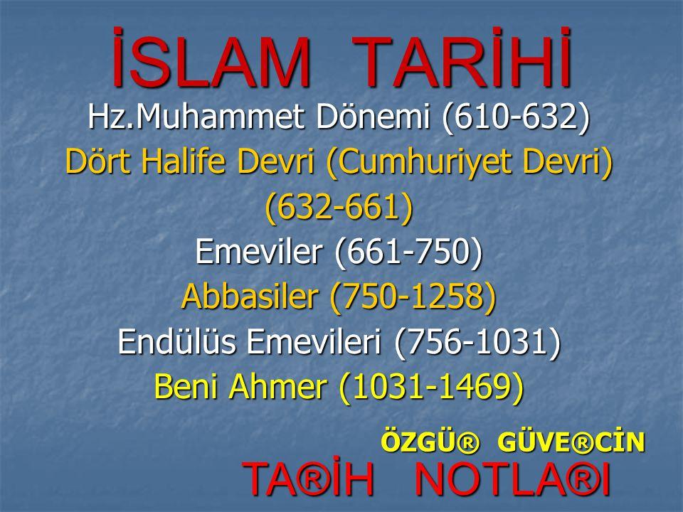Dört Halife Devri (Cumhuriyet Devri)