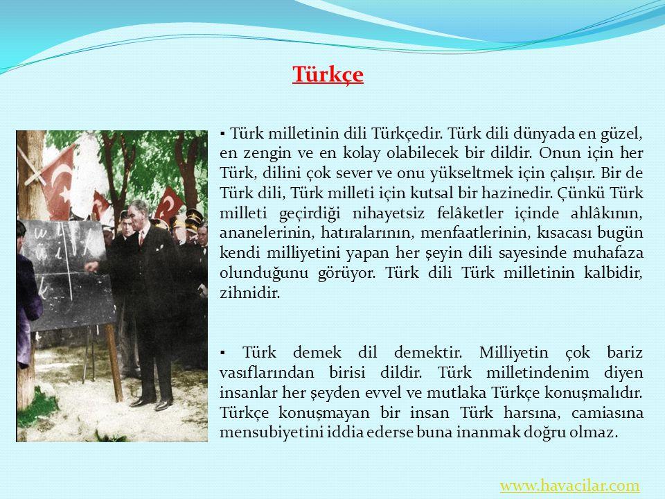 Türkçe.