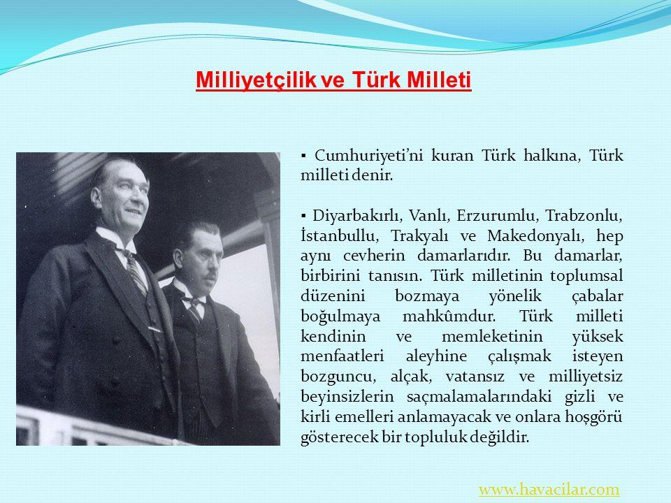 Milliyetçilik ve Türk Milleti