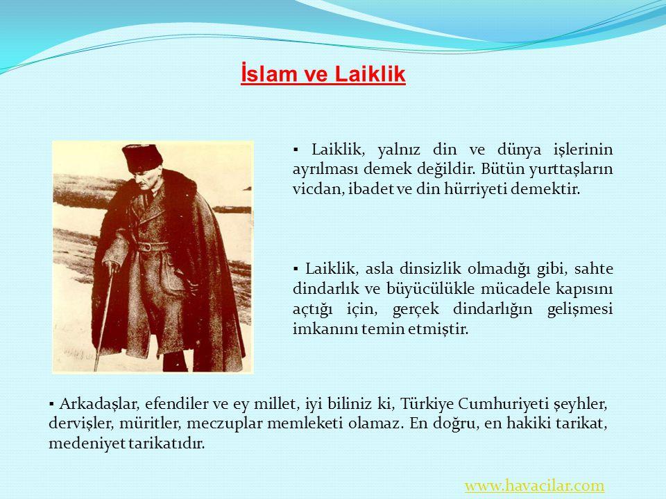 İslam ve Laiklik.