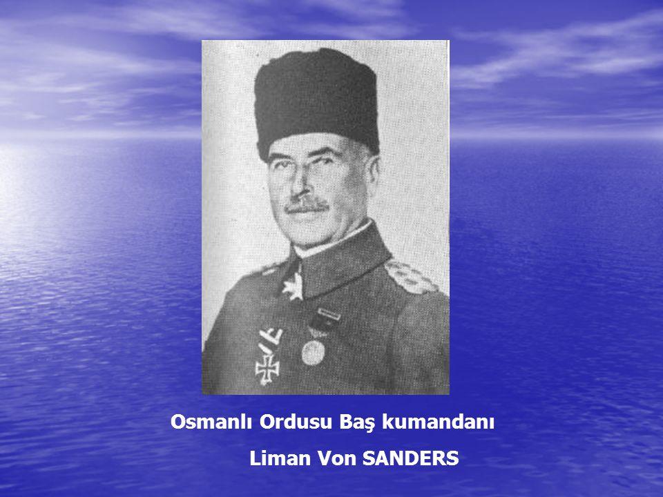 Osmanlı Ordusu Baş kumandanı