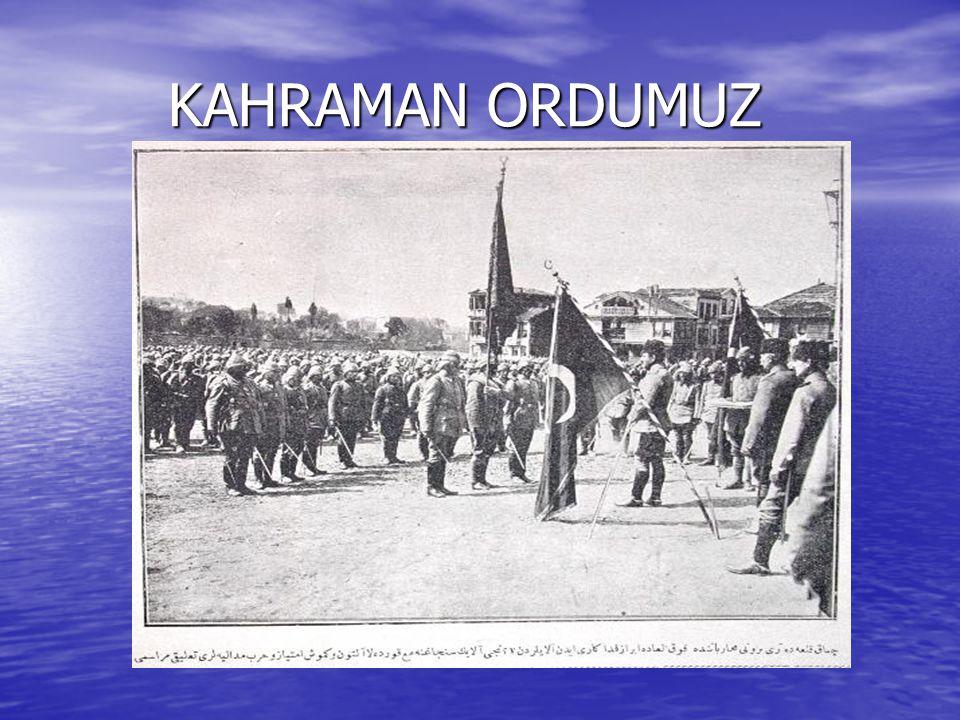 KAHRAMAN ORDUMUZ