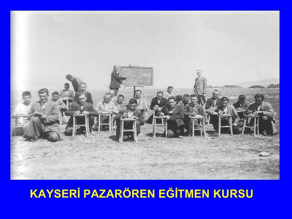 KAYSERİ PAZARÖREN EĞİTMEN KURSU