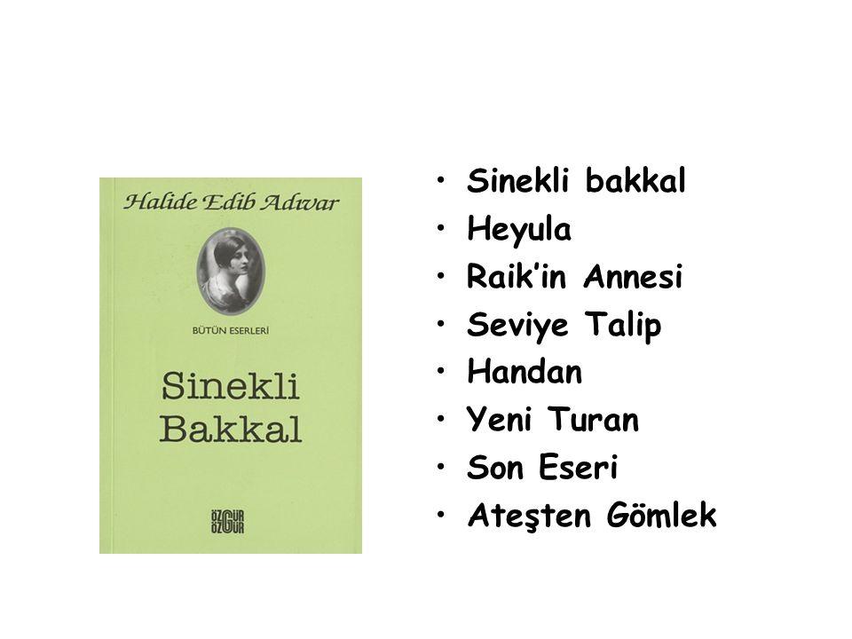 Sinekli bakkal Heyula Raik'in Annesi Seviye Talip Handan Yeni Turan Son Eseri Ateşten Gömlek