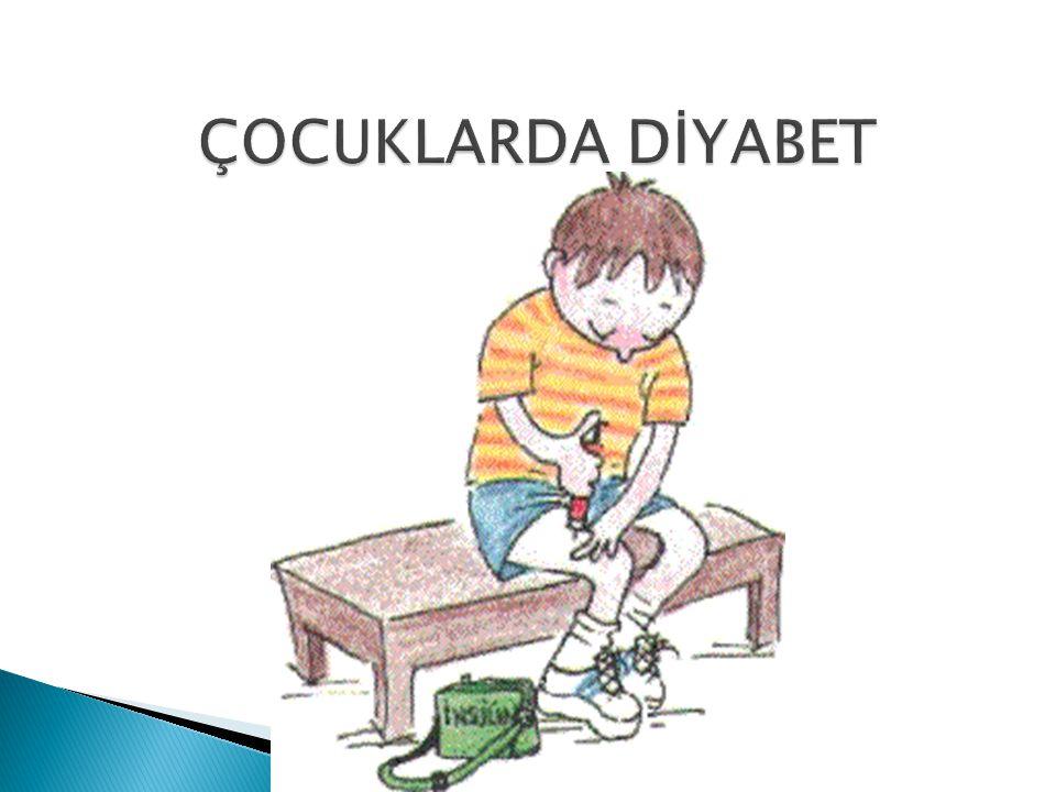 ÇOCUKLARDA DİYABET
