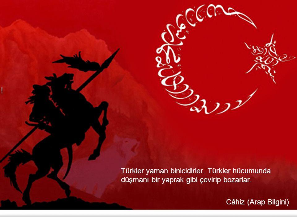 Türkler yaman binicidirler