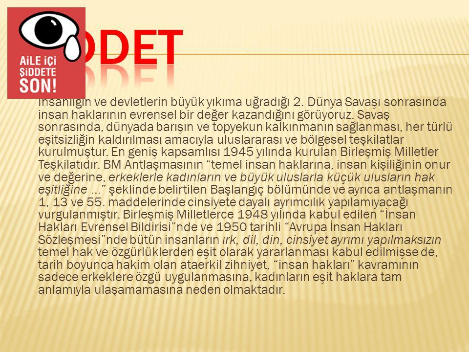 ŞİDDET
