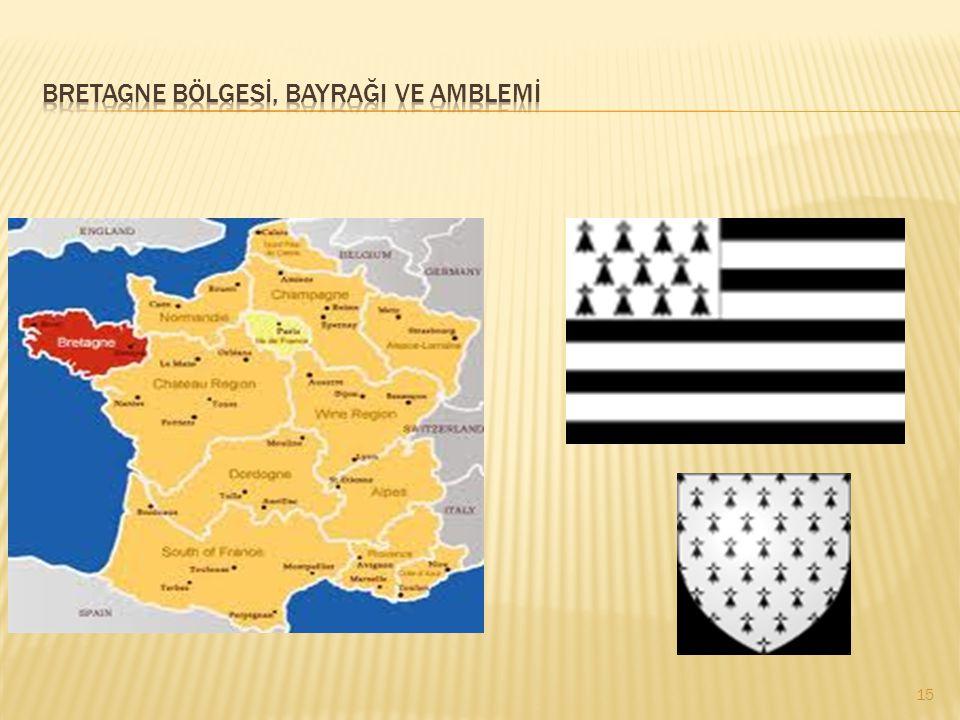 Bretagne bölgesİ, bayrağI ve amblemİ