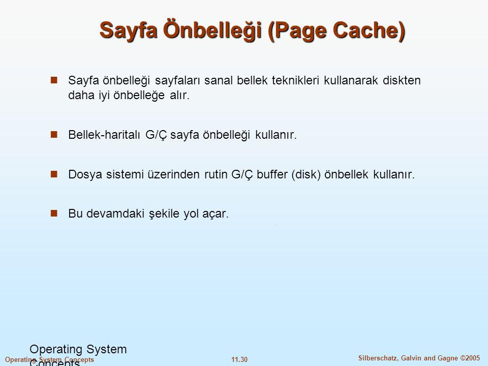 Sayfa Önbelleği (Page Cache)